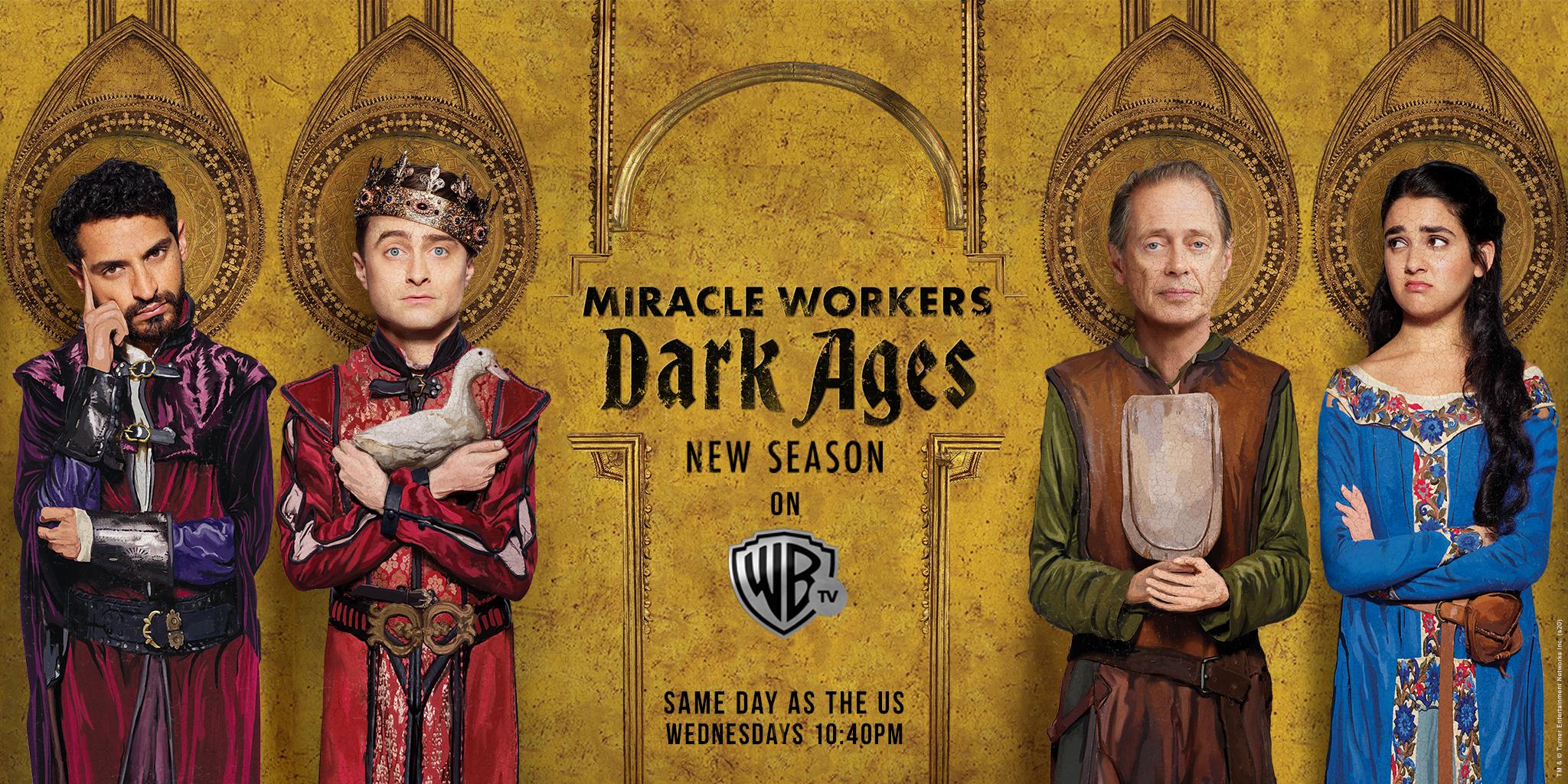 Warner TV's Miracle Workers' Season 2 premieres on January 29