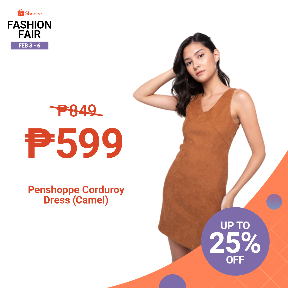 Unleash your inner fashionista during Shopee's Fashion Fair