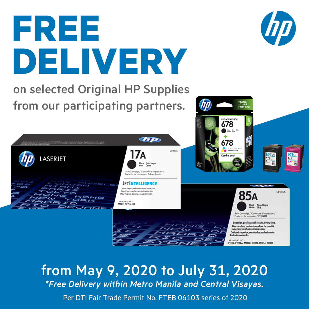 Work from home? Get the most out of your printer with free HP supplies delivery