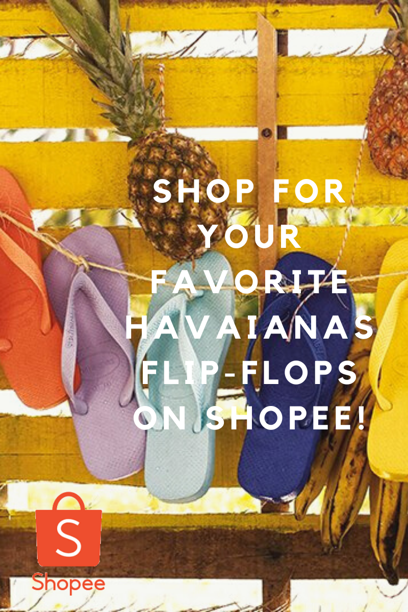 Shop for your favorite Havaianas pairs on Shopee!