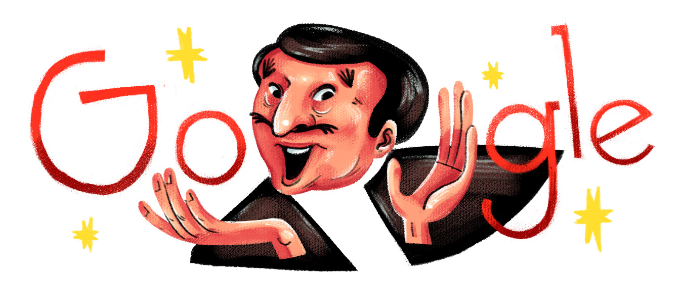 Google Philippines celebrates Dolphy's 92nd birthday with doodle
