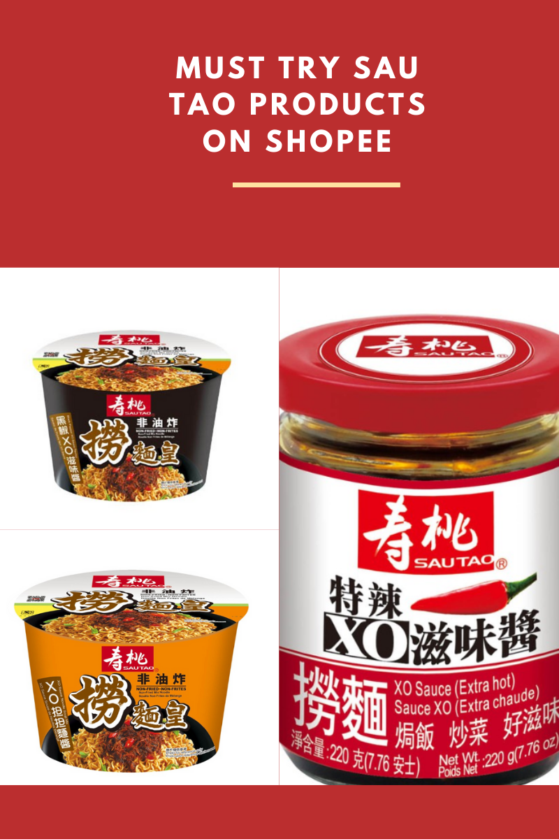 Must try Sau Tao products on Shopee