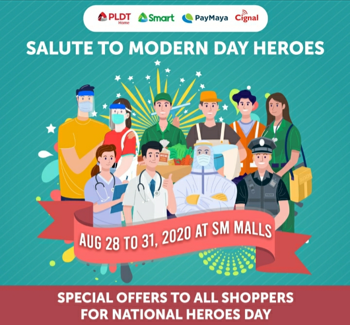 PLDT, Smart, Cignal, and PayMaya offer biggest discounts yet on National Heroes Day weekend