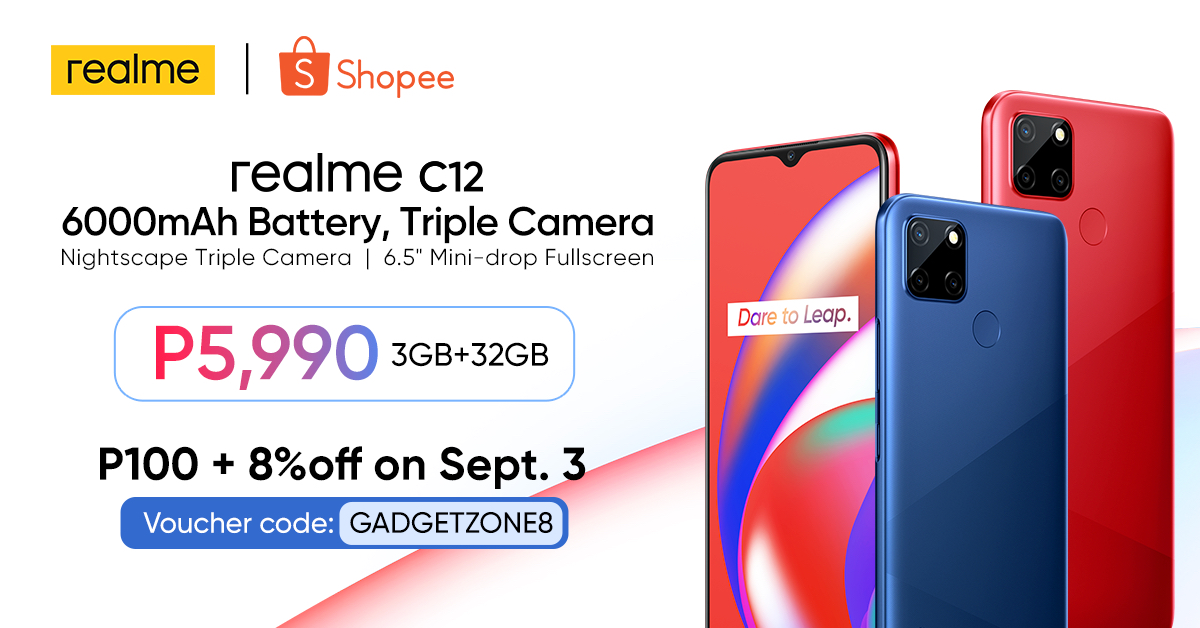 realme C12 officially available nationwide
