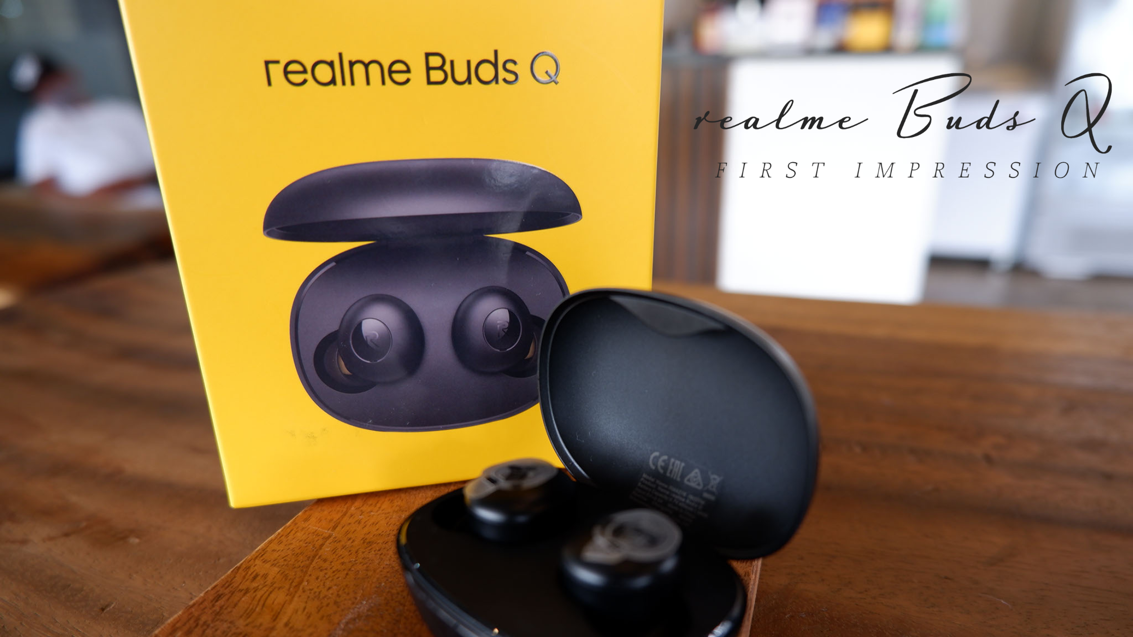 First impression: realme buds Q