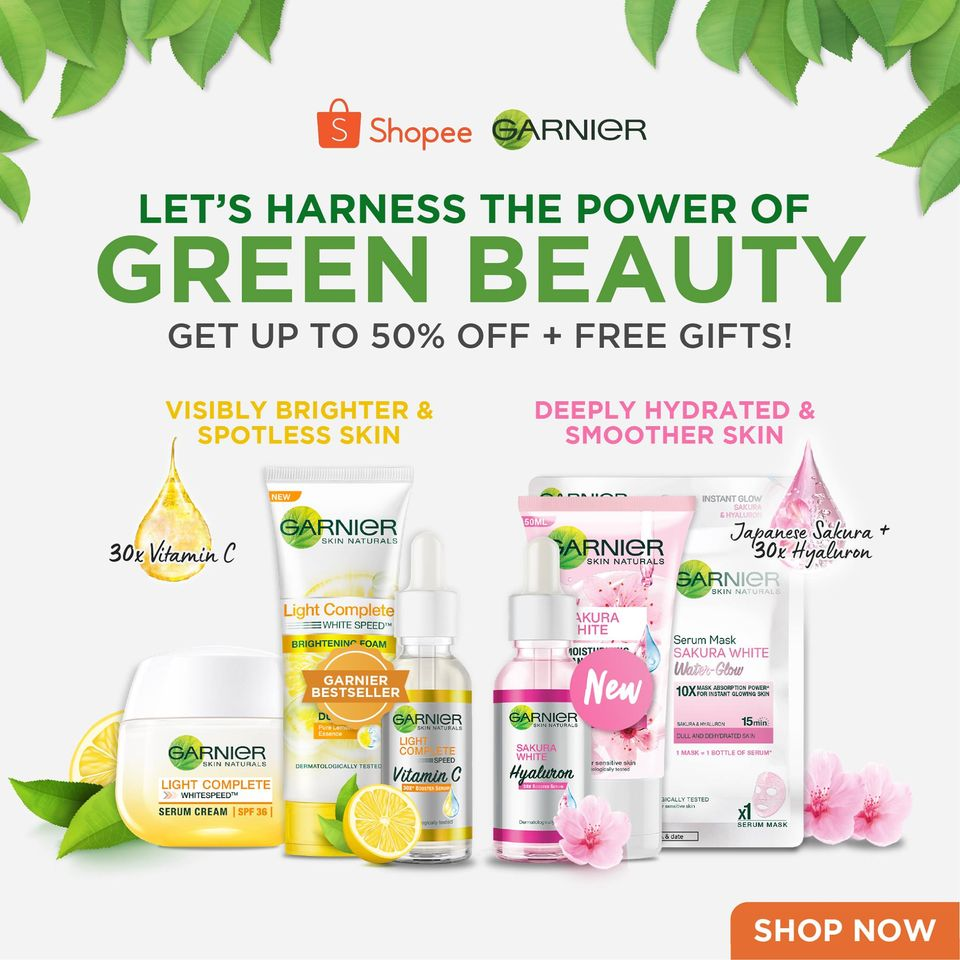Garnier launches its Garnier Green Parcel exclusively on Shopee