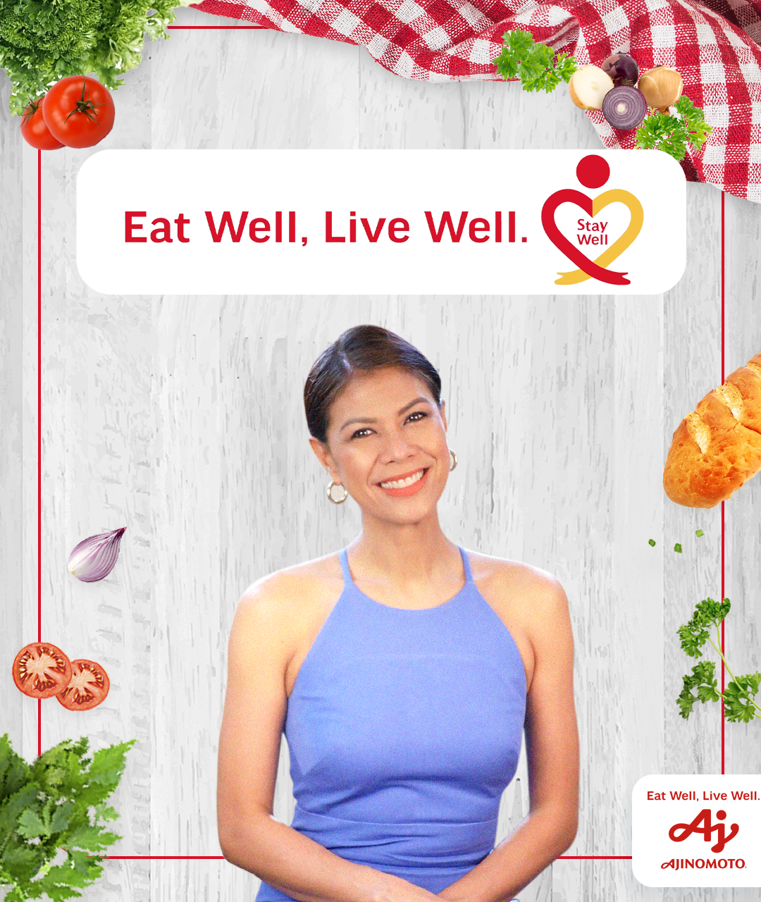 Ajinomoto, GMA-7 launch Eat Well, Live Well. Stay Well web series