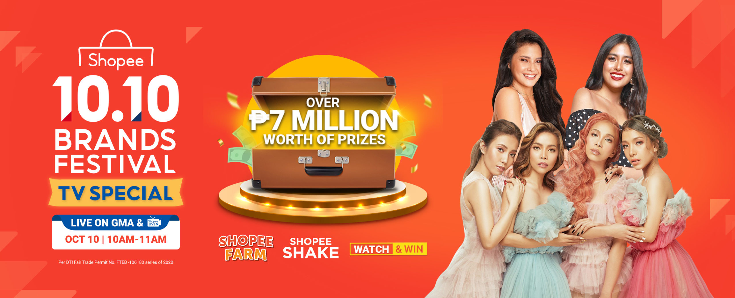 Shopee strengthens supports from brands to reach online customers with 10.10 Brands Festival