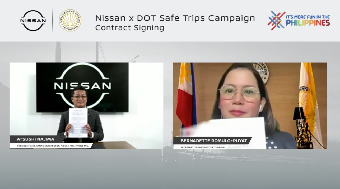 DOT partners with Nissan to promote 'Safe Trips'