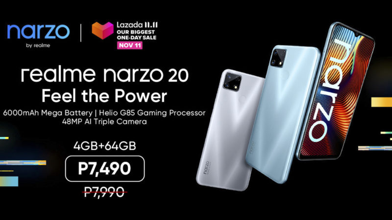 realme launches narzo 20 in PH to boost e-commerce presence as brand achieves 50M smartphone sales worldwide