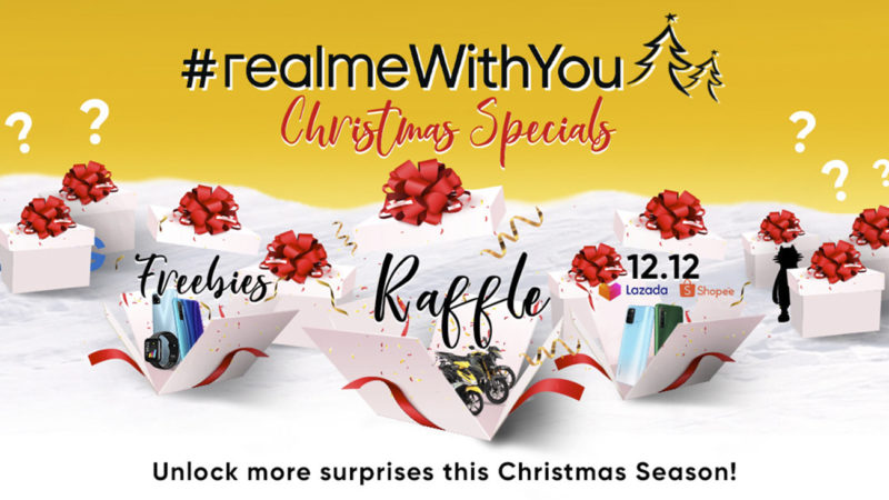 realme officially launches #realmeWithYou Christmas Specials starting with huge prizes and exciting promos