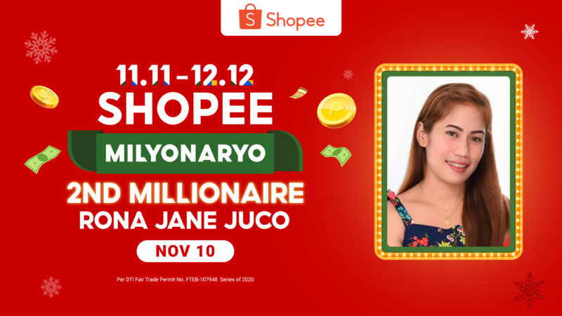 Pregnant Mom Scores Second P1M Win in Shopee Milyonaryo