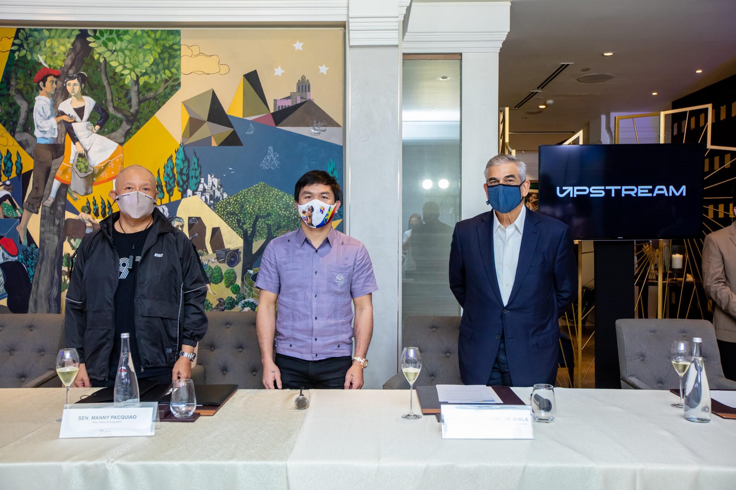 Globe announces Manny Pacquiao as newest Brand Ambassador
