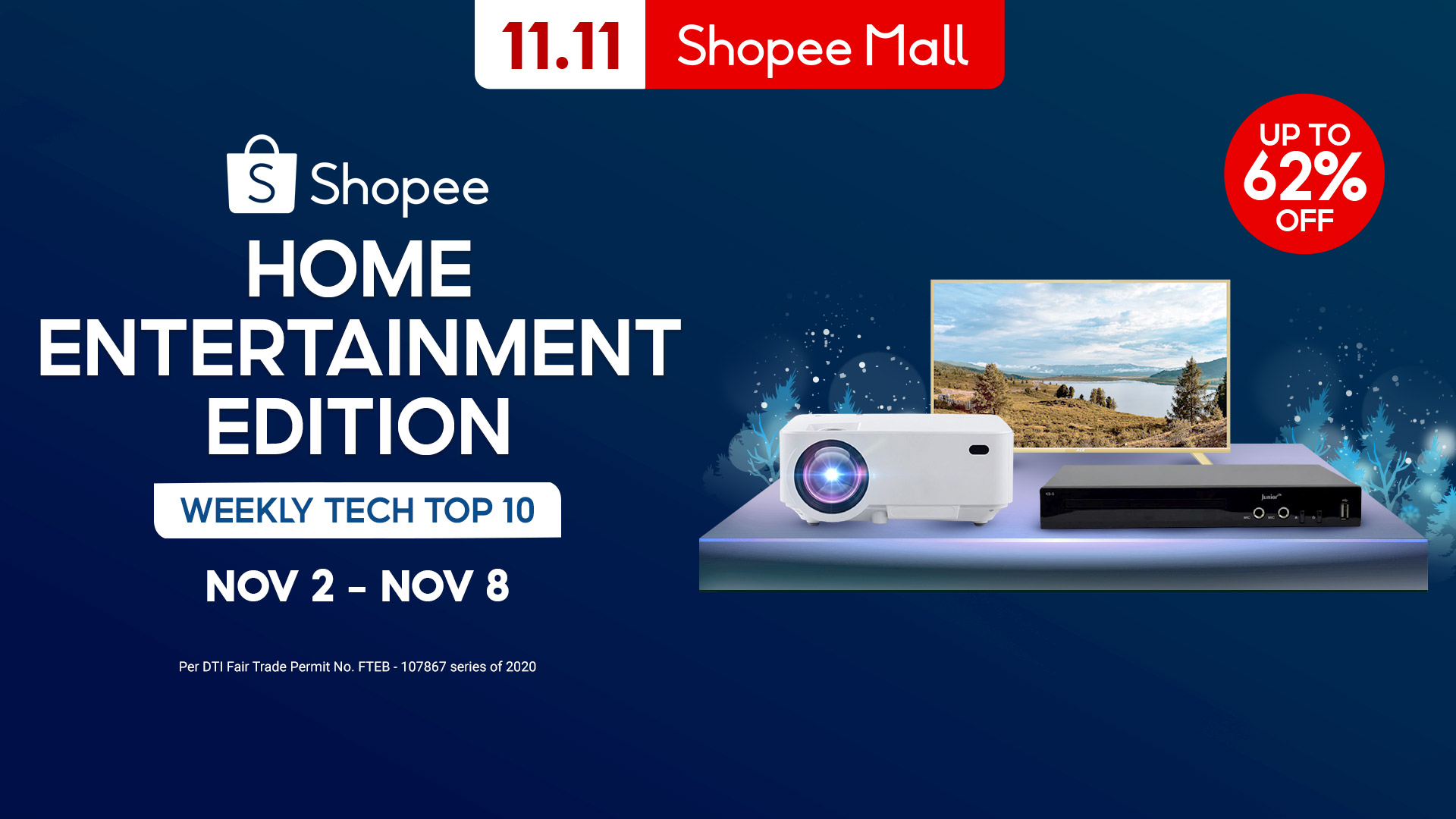 Shopee's Weekly Tech Top 10: How to Make Sure You Don't Miss Out On Quality Time With Your Loved Ones During The Holidays