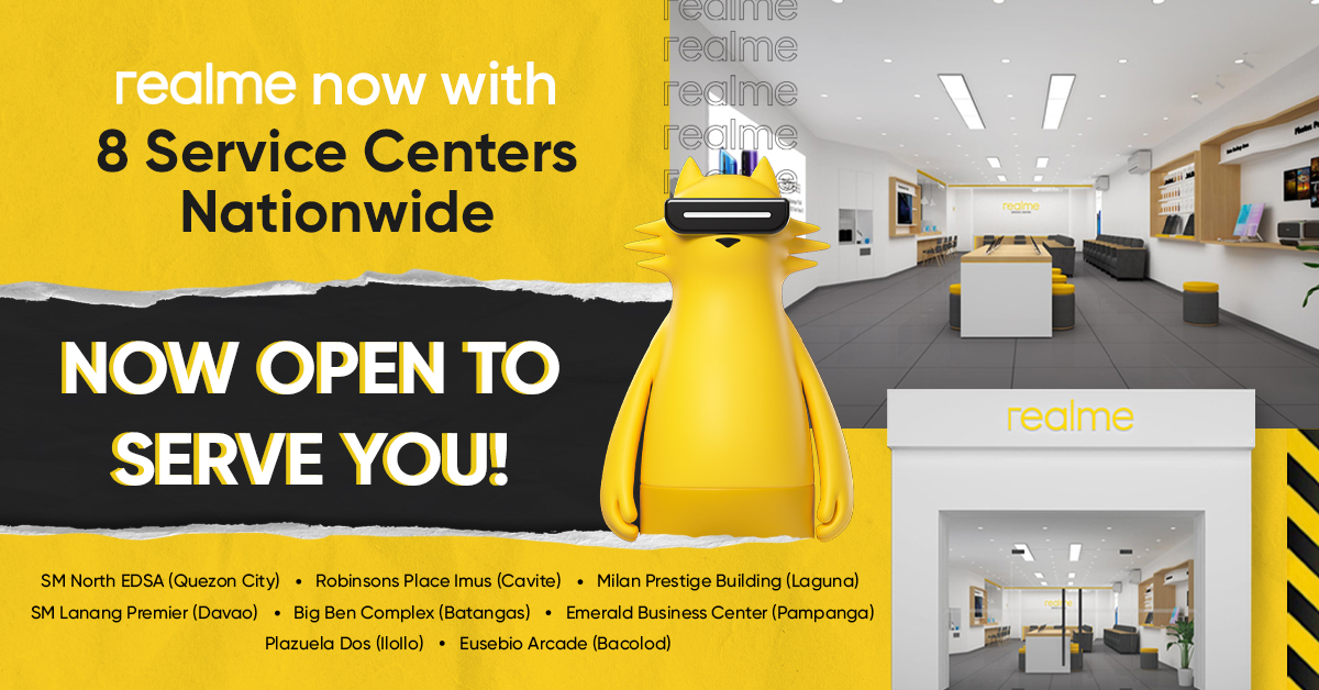 realme opens 8 dedicated service centers nationwide