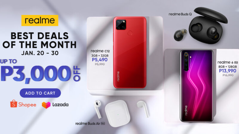 realme saysyellowto 2021 with the best deals of the month