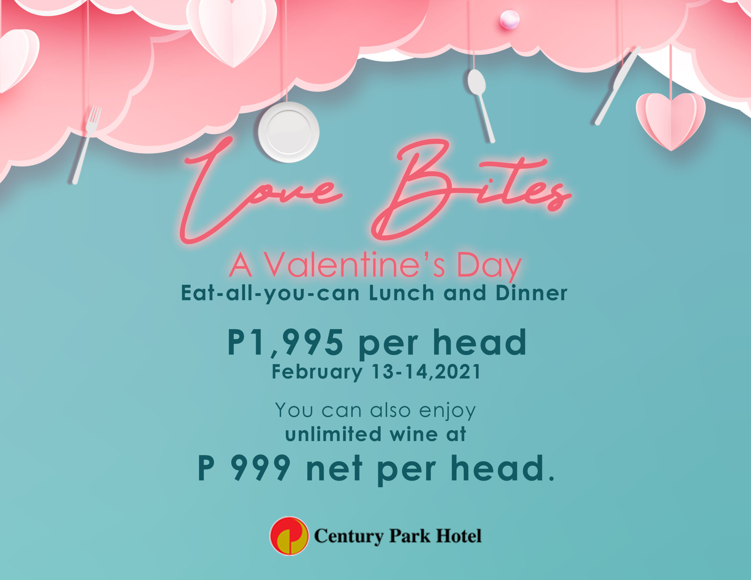 Take Your Loved One on a Lavish Valentine's Date at Century Park Hotel