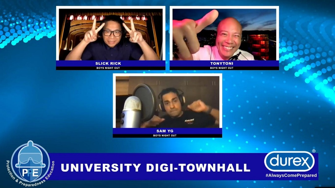 Durex University Digi-Townhall:bringing the timely message of Protection and Preparedness Education Online