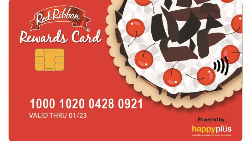 Red Ribbon launches its most convenient and rewarding waythru Rewards Card