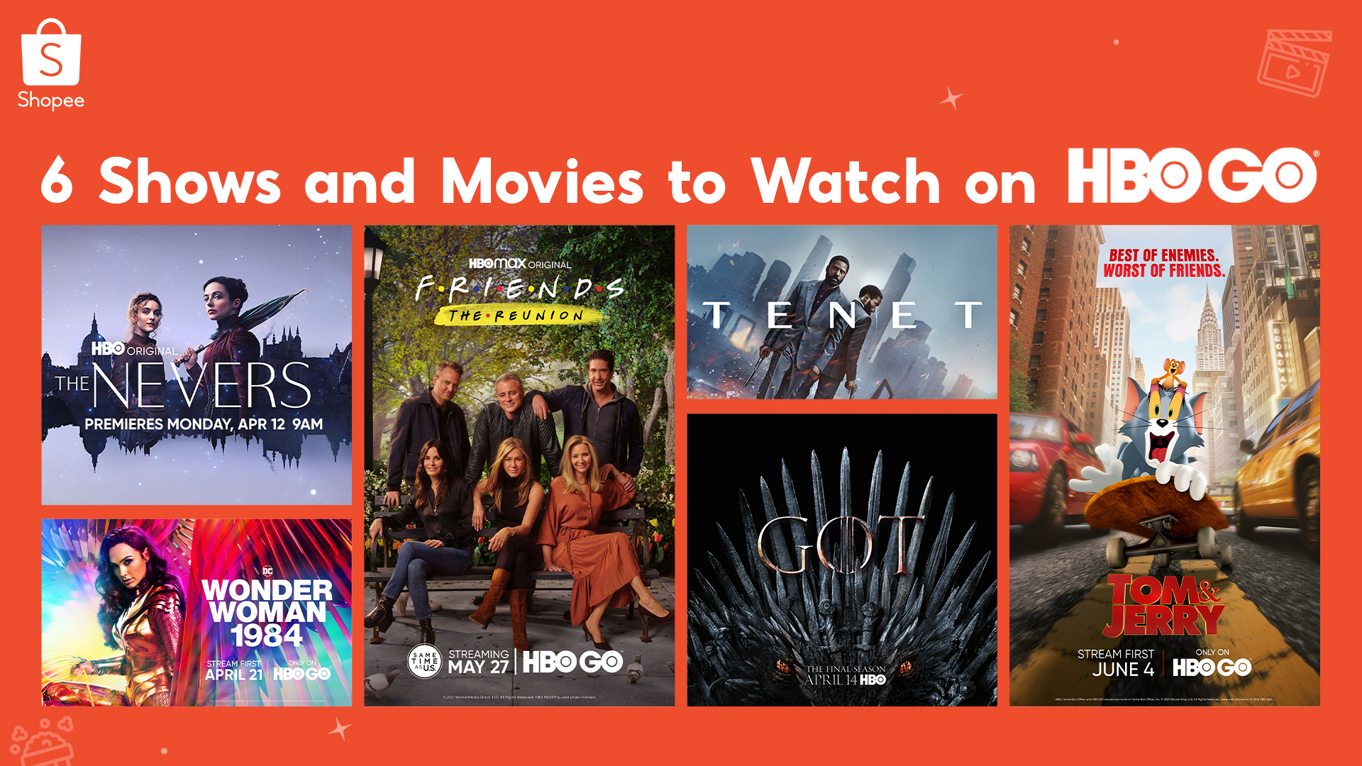 6 Binge-Worthy Shows and Movies to Watch on HBO Go