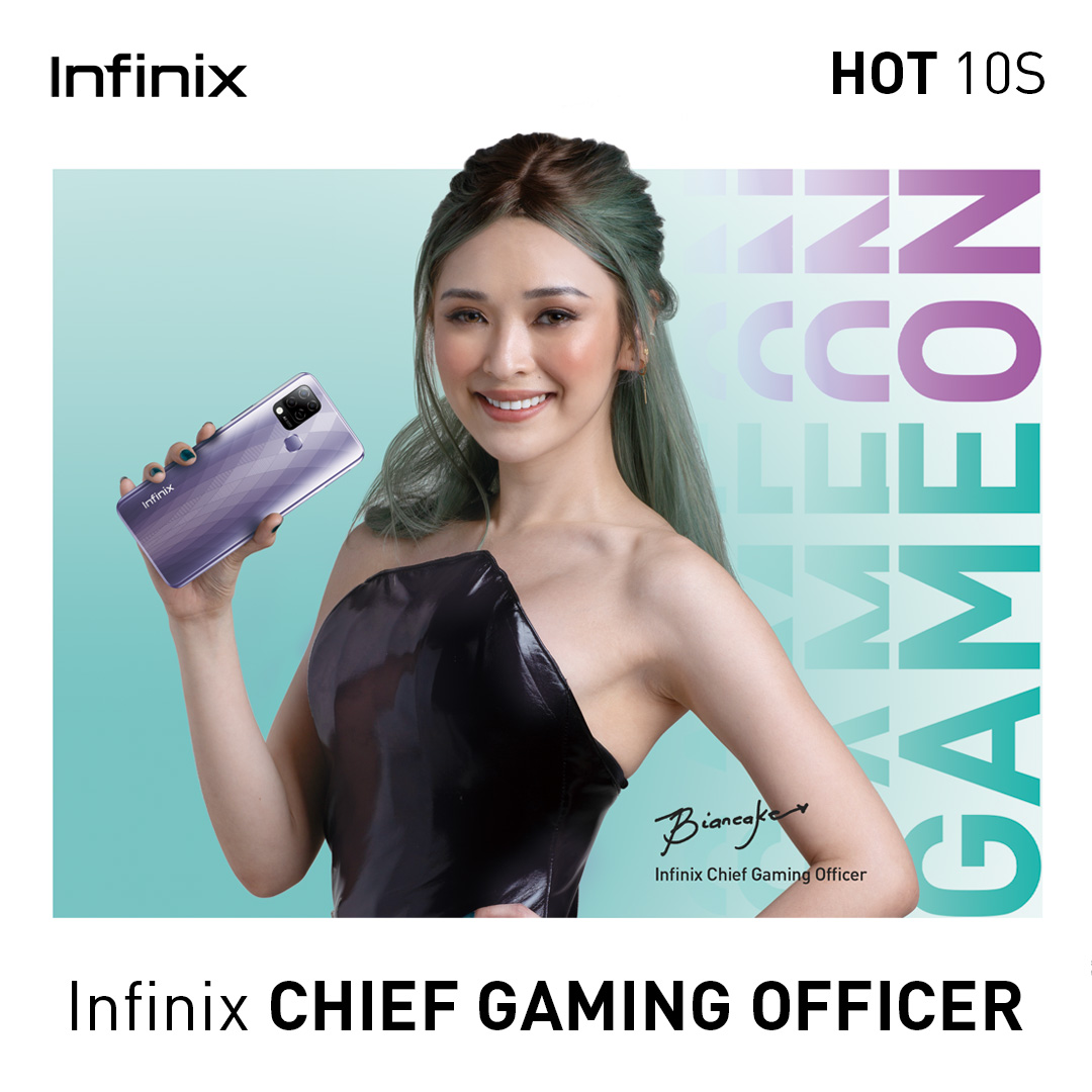 Infinix taps esports IT girl Bianca Yao as Chief Gaming Officer for PH