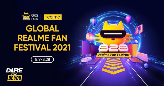 PH's no. 1 smartphone brand realme celebrates Dare To Be You Global Fan Fest this month