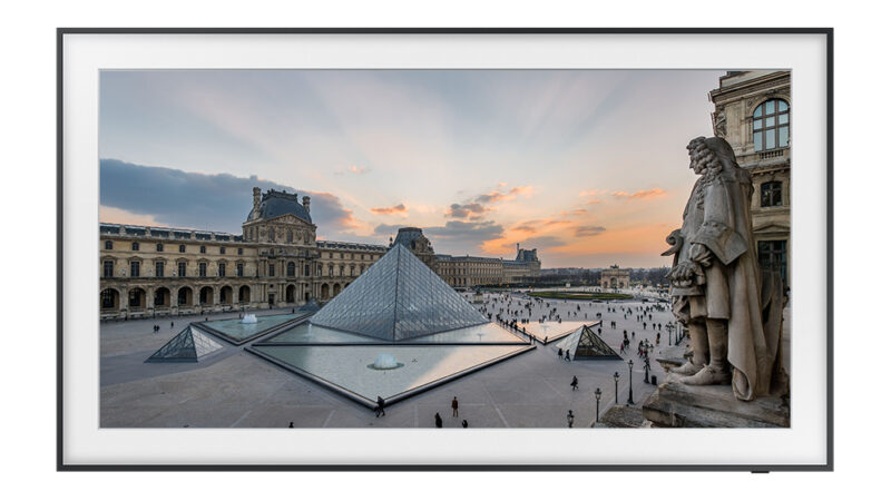 Take masterpieces from the Louvre home with Samsung's The Frame