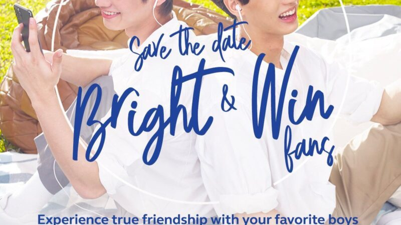Thai heartthrobs, newest Globe ambassadors Bright and Win encourage their fans to stand by each other
